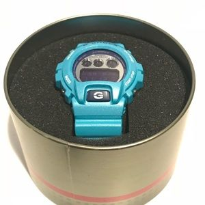 Blue G Shock watch